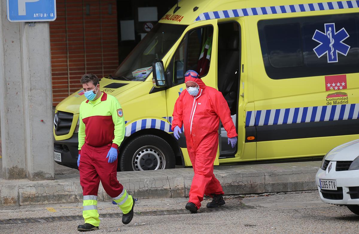 Urgencias del Hospital Severo Ochoa de Leganés