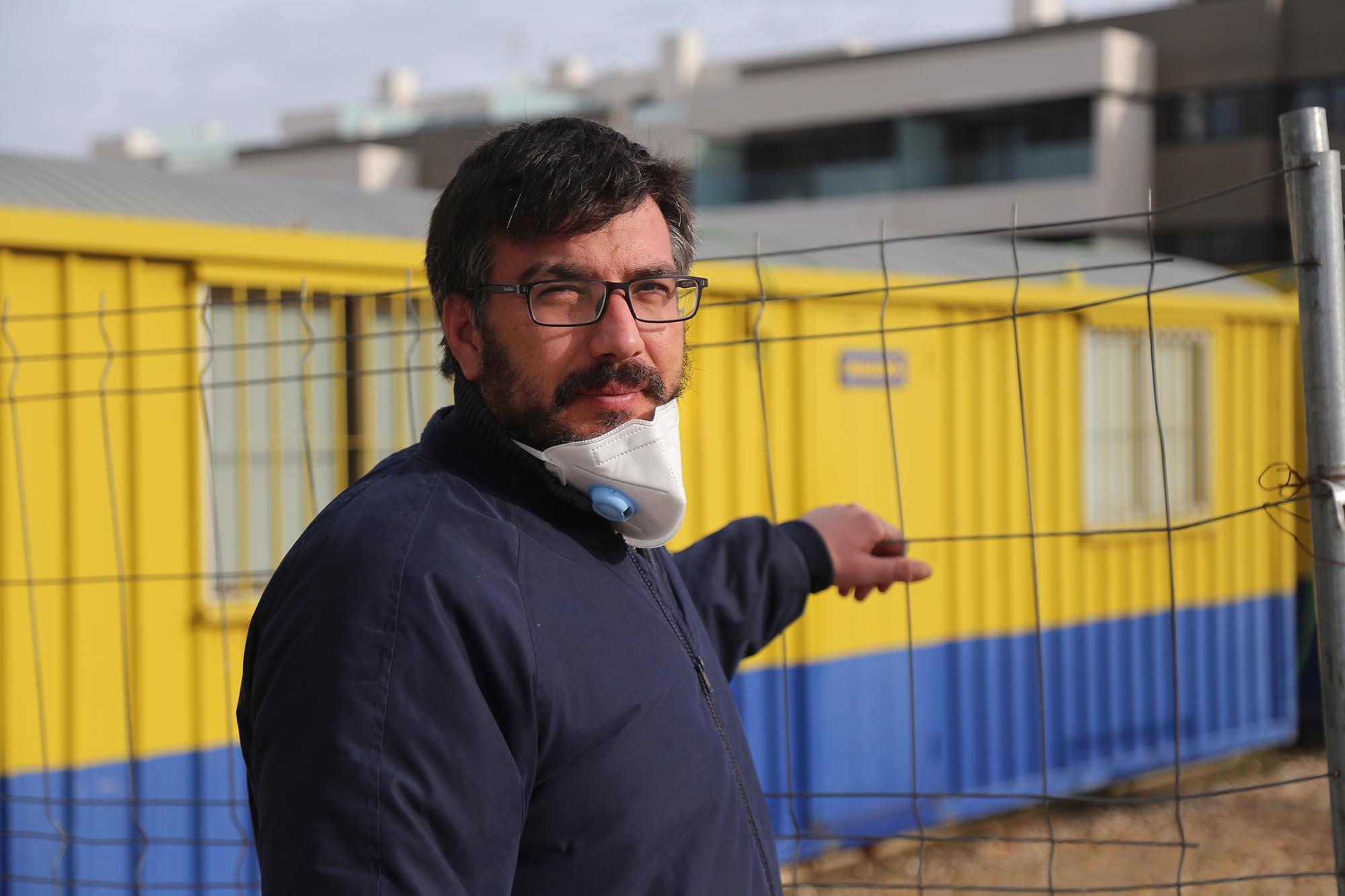 Alberto Palmero, administrativo de obra y delegado de CCOO