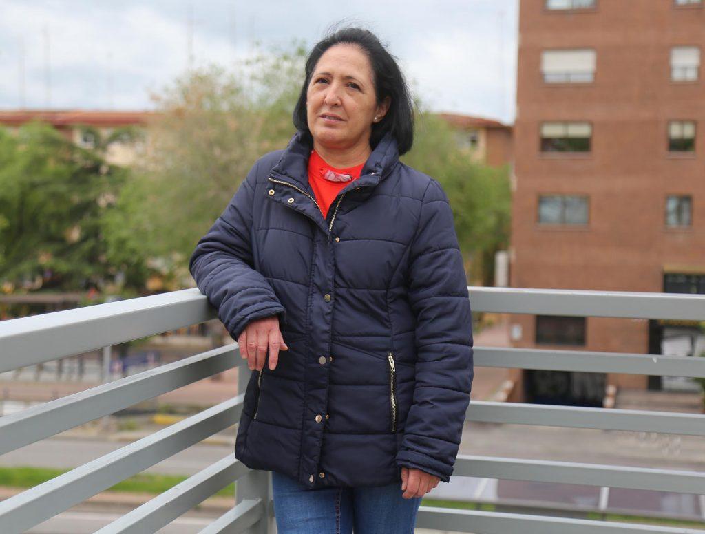 Conchi Santodomingo, auxiliar de Ayuda a Domicilio y delegada de CCOO
