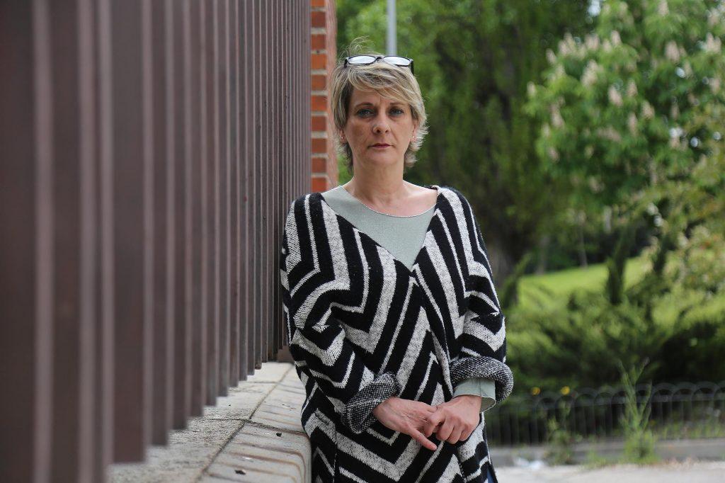 Juani Peñafiel, gerocultora y delegada de CCOO de Madrid