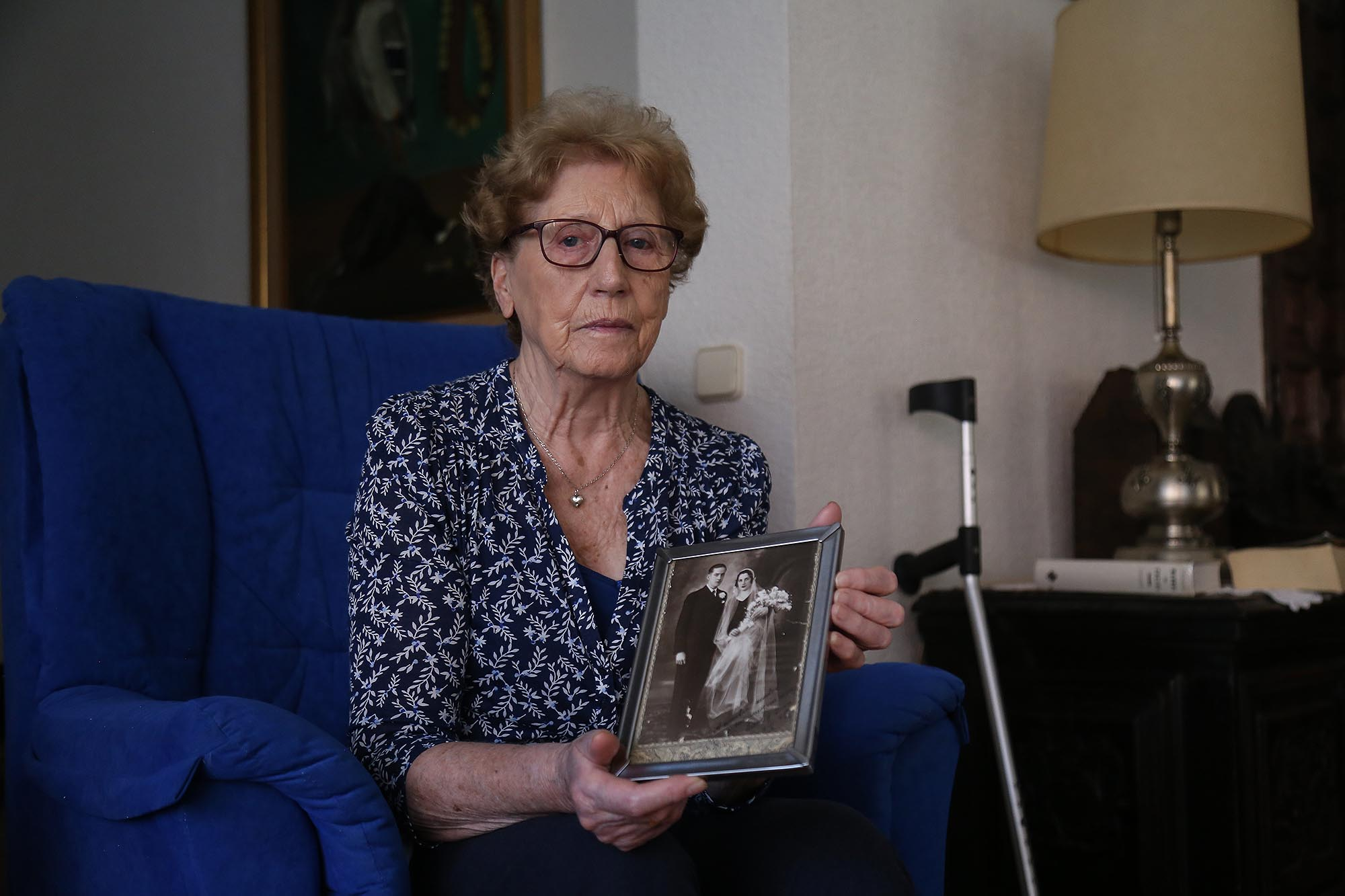 Rosa María Insúa, hija del miliciano asesinado